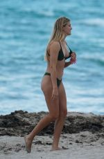 Eugenie Bouchard On the beach in Miami