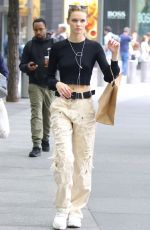 Faith Lynch Out & about in NYC