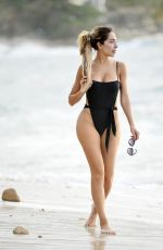 Farrah Abraham In a black bikini during her recent vacation in puerto vallarta in Mexico
