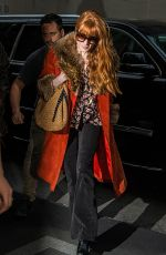 Florence Welch Arriving at her hotel in NYC