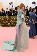 Florence Welch At The 2019 Met Gala Celebrating Camp: Notes on Fashion at Metropolitan Museum of Art in New York City