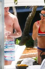 Frankie Bridge Flaunts her athletic physique in Miami