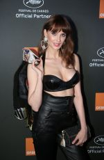 Frederique Bel At Orange Party at Plage Majestic in Cannes