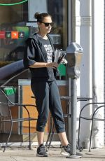 Gal Godot Going to pilates class in Beverly Hills