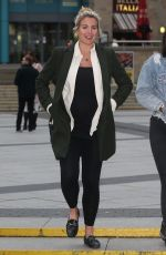 Gemma Atkinson Arriving at The Lowry in Salford