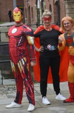 Gemma Atkinson At Cash For Kids Super Hero Day in Manchester