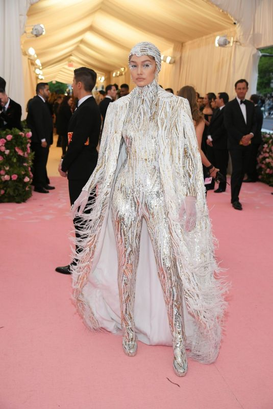 Gigi Hadid At 2019 Met Gala in NYC