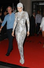 Gigi Hadid Heads to the Met Gala after party in NYC