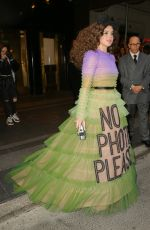 Hailee Steinfeld Leaving The Carlyle Hotel heading to the Met Gala in NYC