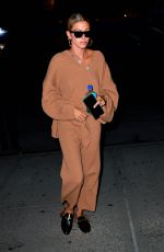 Hailey Baldwin At The Bowery Hotel in New York