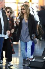 Halle Berry Touches down at JFK airport in New York after arriving from Los Angeles