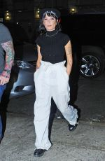 Halsey At Night Out in New York City