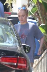 Hayden Panettiere At a gas station in LA