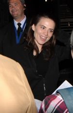 Hayley Atwell Leaves the The Duke of York