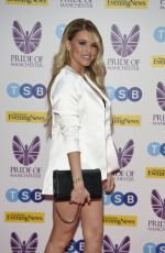 Hayley Hughes At The Pride Of Manchester Awards in Partnership with TSB at the Prince Hotel in Manchester