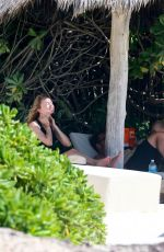 Heather Graham On Vacation in Mexico