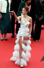 Heidi Lushtaku At once upon a time in hollywood screening at cannes film festival