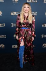 Hilary Duff At Comedy Central, Paramount Network and TV Land Press Day in LA