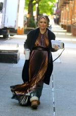 Hilary Duff At set of Younger in NYC