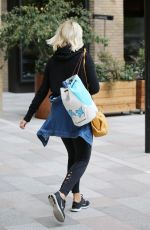 Holly Willoughby Leaving ITV Studios in London