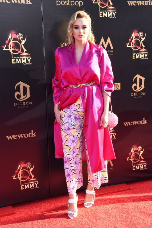 Hunter Haley King At 46th Annual Daytime Creative Arts Emmy Awards in Pasadena