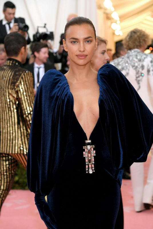 Irina Shayk At 2019 MET Gala in NYC