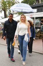 Iskra Lawrence On the Croisette during the 72nd Cannes Film Festival
