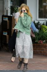 Isla Fisher At Fred Segal in West Hollywood