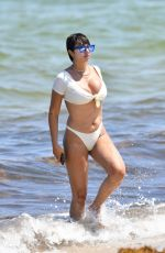 Jackie Cruz On the Beach in Miami Beach