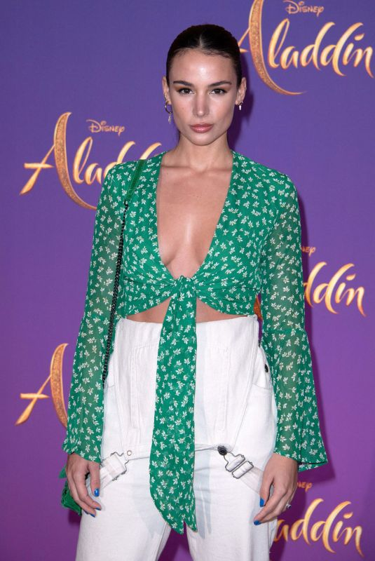 Jade Leboeuf At Aladdin Premiere at the Grand Rex Cinema in Paris