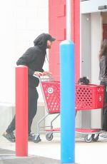 Jamie Chung Outside Target in Los Angeles