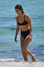 Jamie Chung Shows off her bikini body during a girls weekend in Miami