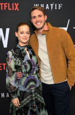 Jane Levy At What/If Premiere in Hollywood
