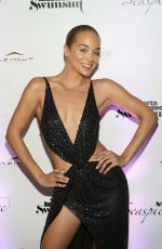 Jasmine Sanders At Sports Illustrated Swimsuit 2019 Issue Launch in Miami