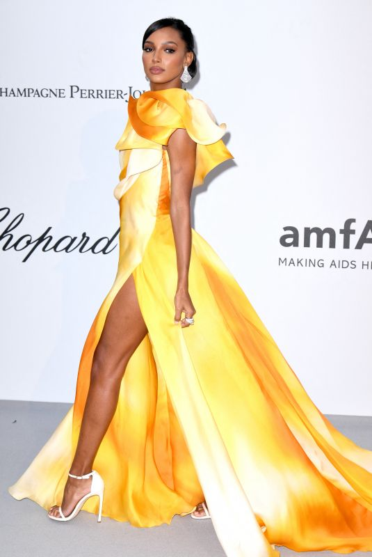 Jasmine Tookes At amfAR Cannes Gala 2019 at Hotel du Cap-Eden-Roc in Antibes
