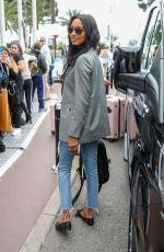 Jasmine Tookes At the Martinez Hotel in Cannes