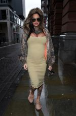Jemma Lucy At Glow and Blow Boot Camp Get Summer Ready Event at The Evelyn House in Manchester
