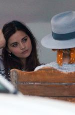 Jenna Coleman Out and about in London