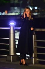 Jennifer Aniston Films a scene for her upcoming movie in New York City