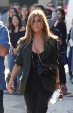Jennifer Aniston Promotes