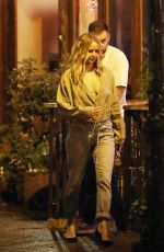 Jennifer Lawrence Has a sushi date with Cooke Maroney in the East Village