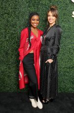 Jessica Alba & Gabrielle Union At Sony Pictures Television