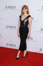 "Jessica Chastain At ""X-Men: Dark Phoenix"" Exclusive Fan Event in London"