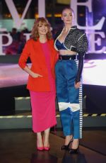 Jessica Chastain & Sophie Turner At the