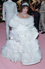 Joan Collins Attends The 2019 Met Gala Celebrating Camp: Notes On Fashion at The Metropolitan Museum of Art, New York