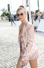 Josephine Skriver Arriving at her hotel in Cannes