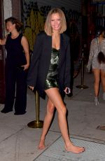 Josephine Skriver At Gucci After Party at Met Gala in New York