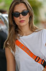 Josephine Skriver At Hotel Martinez in Cannes France