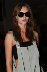Josephine Skriver At Nice Airport in France
