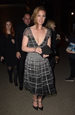 Julia Stiles At Riviera Season Two premiere hosted at Saatchi Gallery - London